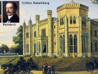 Wilhelm's castle in Potsdam-Babelsberg