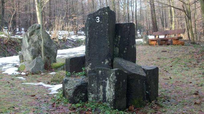 Siebengebirge nature: basalt