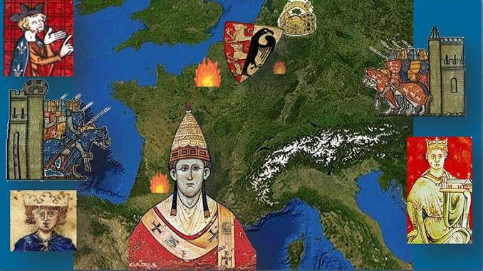 Middle Ages Siebengebirge, Europe 1214, Bouvines