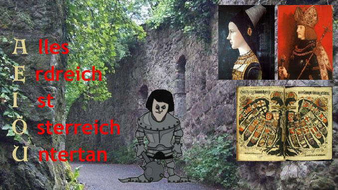 Late Middle Ages, Emperor Maximilian and Maria, Drachenfels