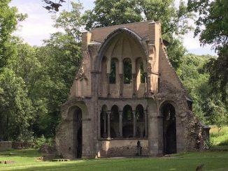Ruin of the medieval choir Heisterbach