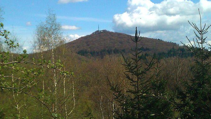 Ölberg, view from Geisberg
