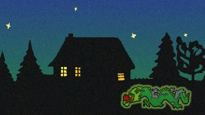 Siebengebirge tales, The Haunted House