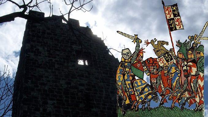 Late Middle Ages, Drachenfels, Battle of Worringen