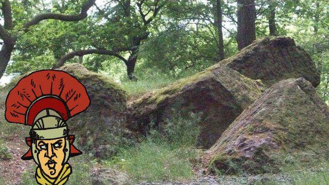 Trachyte rocks at Drachenfels
