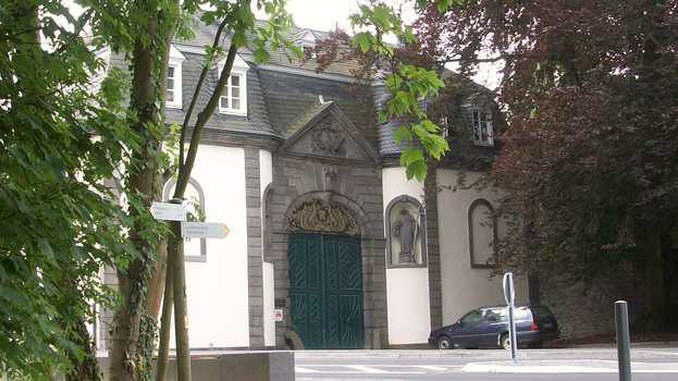Heisterbach Abbey, gate
