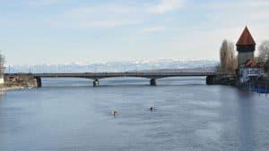 Konstanz, Old Rhine Bridge