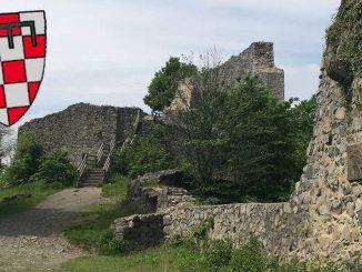 Löwenburg Castle, Sayn coat of arms