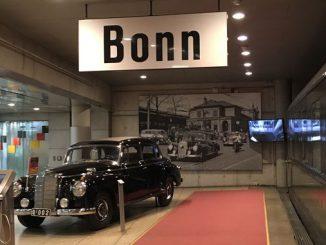 Chancellor Adenauer's Mercedes, Haus der Geschichte, Bonn
