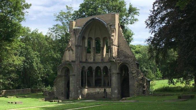 Heisterbach Abbey, choir of the medieval church