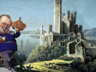 King Frederick William IV , Stolzenfels Castle