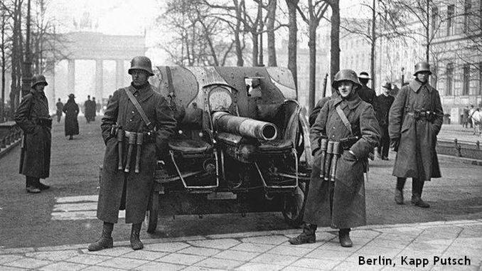 Kapp putsch, Berlin 1920