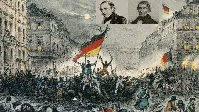March revolution, Berlin, Camphausen, Hansemann
