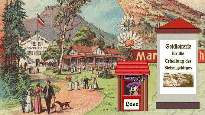 Margarethenhof, Siebengebirge, around 1900